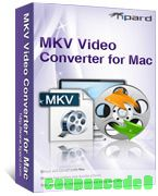 Tipard MKV Video Converter for Mac discount coupon