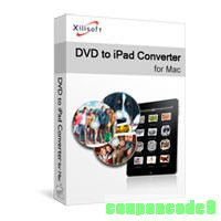 Xilisoft DVD to iPad Converter for Mac discount coupon