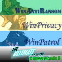 Ultimate Bundle, 5 User License for WinAntiRansom, WinPatrol and WinPrivacy w/ Annual Renewal discount coupon
