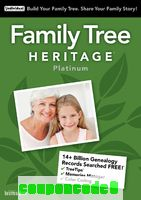Family Tree Heritage™ Platinum 15 discount coupon