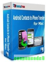 Backuptrans Android Contacts to iPhone Transfer for Mac (Family Edition) discount coupon