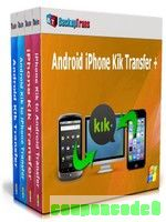 Backuptrans Android iPhone Kik Transfer + (Family Edition) discount coupon