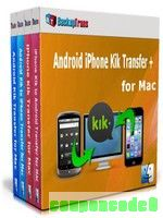 Backuptrans Android iPhone Kik Transfer + for Mac (Family Edition) discount coupon