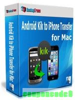 Backuptrans Android Kik to iPhone Transfer for Mac (Family Edition) discount coupon