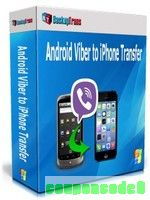 Backuptrans Android Viber to iPhone Transfer (Family Edition) discount coupon