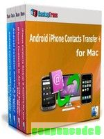 Backuptrans Android iPhone Contacts Transfer + for Mac (Business Edition) discount coupon