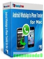 Backuptrans Android WhatsApp to iPhone Transfer for Mac (Business Edition) discount coupon
