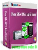 Backuptrans iPhone SMS + MMS to Android Transfer (Business Edition) discount coupon