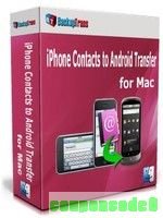 Backuptrans iPhone Contacts to Android Transfer for Mac (Family Edition) discount coupon