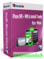 Backuptrans iPhone SMS + MMS to Android Transfer for Mac (Family Edition) discount coupon