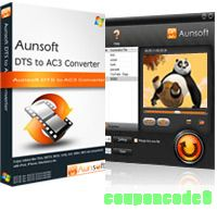 Aunsoft DTS to AC3 Converter discount coupon