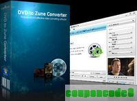 mediAvatar DVD to Zune Converter discount coupon