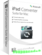 Aiseesoft iPad Converter Suite for Mac discount coupon