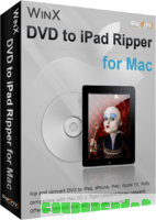 WinX DVD to iPad Ripper for Mac discount coupon