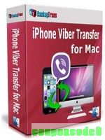 Backuptrans iPhone Viber Transfer for Mac (Personal Edition) discount coupon