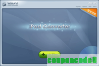WinAVI iPod Converter discount coupon