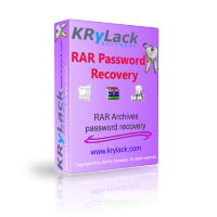 KRyLack RAR Password Recovery discount coupon