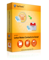 SysTools Lotus Notes Contacts to Gmail discount coupon