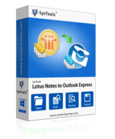 SysTools Lotus Notes to Outlook Express discount coupon
