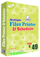 Multiple Files Printer and Scheduler discount coupon