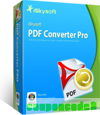 iSkysoft PDF Converter Pro for Windows discount coupon