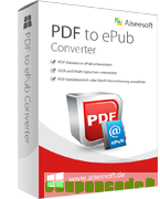 Aiseesoft PDF to ePub Converter discount coupon