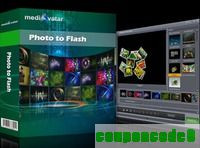 mediAvatar Photo to Flash discount coupon