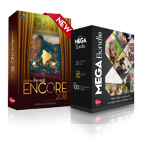 muvee Reveal Encore + Mega Bundle; ALL 62 Styles + 10 Cinematic Titles and more than 120 music tracks discount coupon