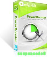 Amigabit PowerBooster (1 Year Subscription) discount coupon