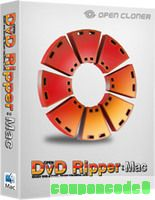 Open DVD Ripper for Mac discount coupon