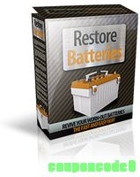 Restore Batteries discount coupon