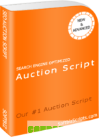 Auction software (with Design 1) discount coupon