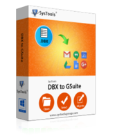 SysTools DBX to G Suite – One License discount coupon