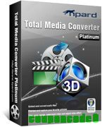 Tipard Total Media Converter Platinum discount coupon