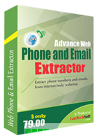Advance Web Phone and Email Extractor discount coupon