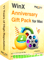 WinX Anniversary Gift Pack for Mac discount coupon