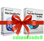 Aneesoft Video Converter Pro and YouTube Converter Bundle for Mac discount coupon