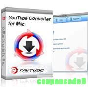 Pavtube YouTube Converter for Mac discount coupon