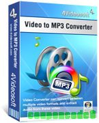 4Videosoft Video to MP3 Converter discount coupon